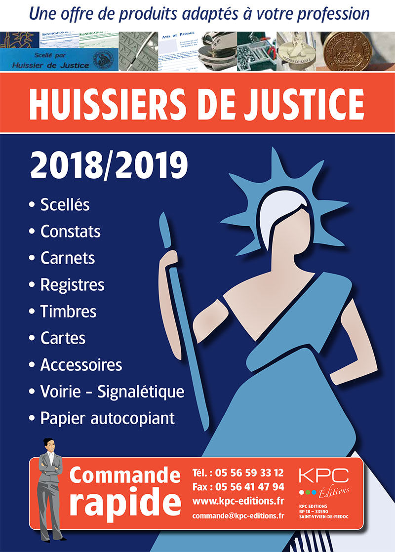 KPC Catalogue Huissier de justice (PDF HD)